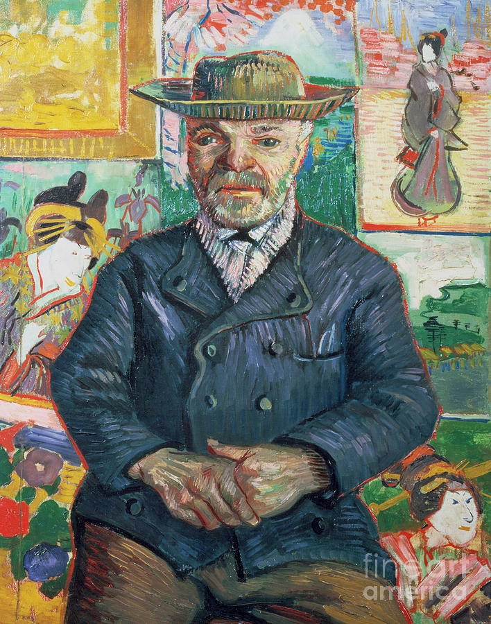 Male Painting - Pere Tanguy by Vincent van Gogh