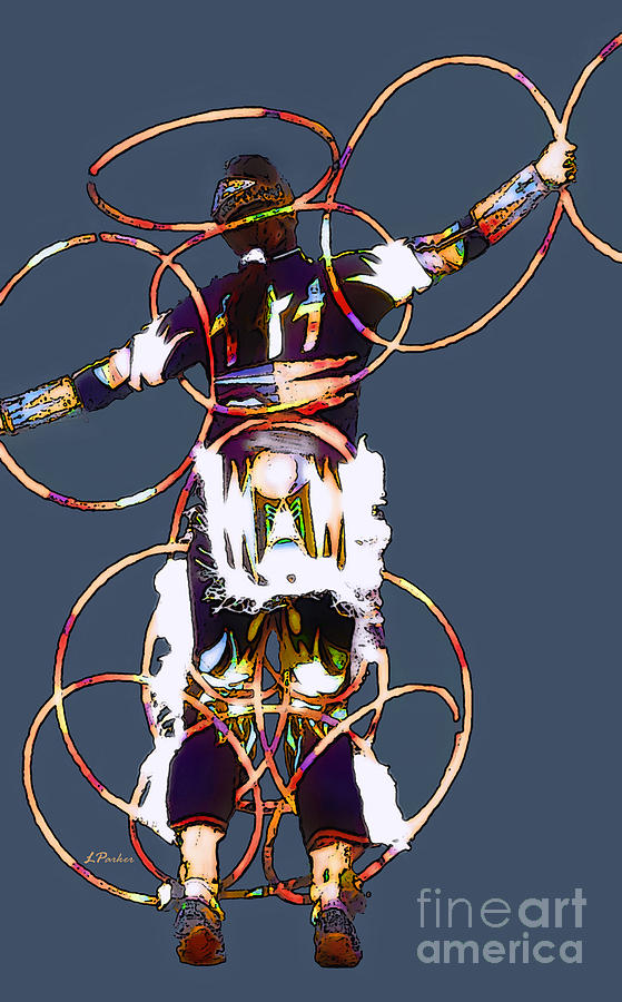 Powwow Hoop Dancer Photograph