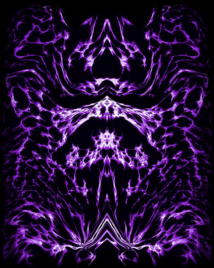 Purple Series 1 Painting