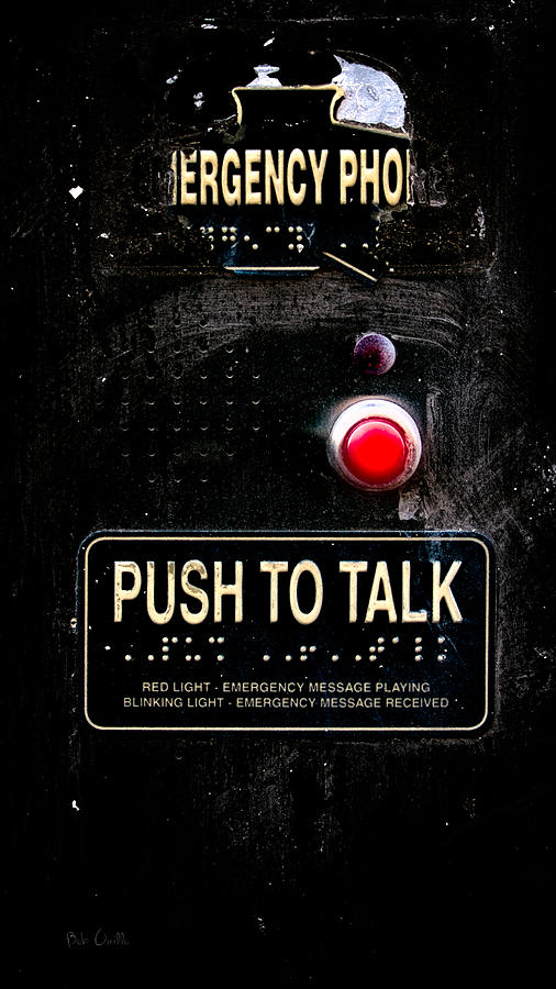 Push To Talk Photograph