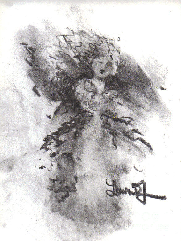 Rapture Of Peace Drawing