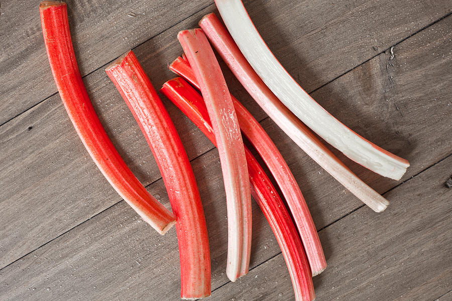 Cookery Photograph - Rhubarb by Tom Gowanlock