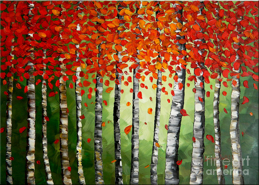 Rich Trees Painting