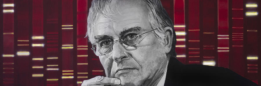 Richard Dawkins Painting  - Richard Dawkins Fine Art Print