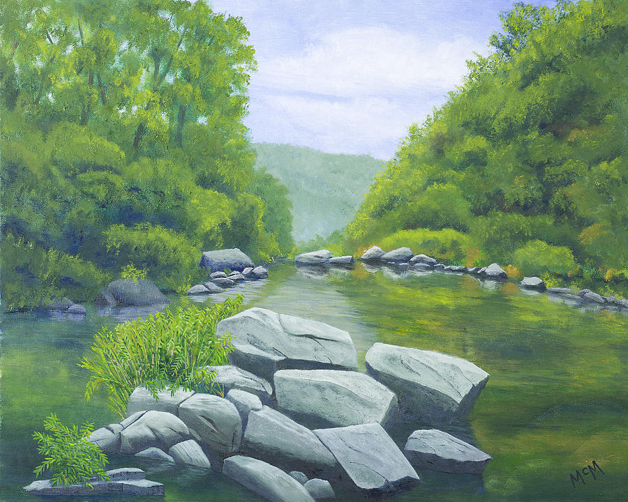 Richland Creek Painting