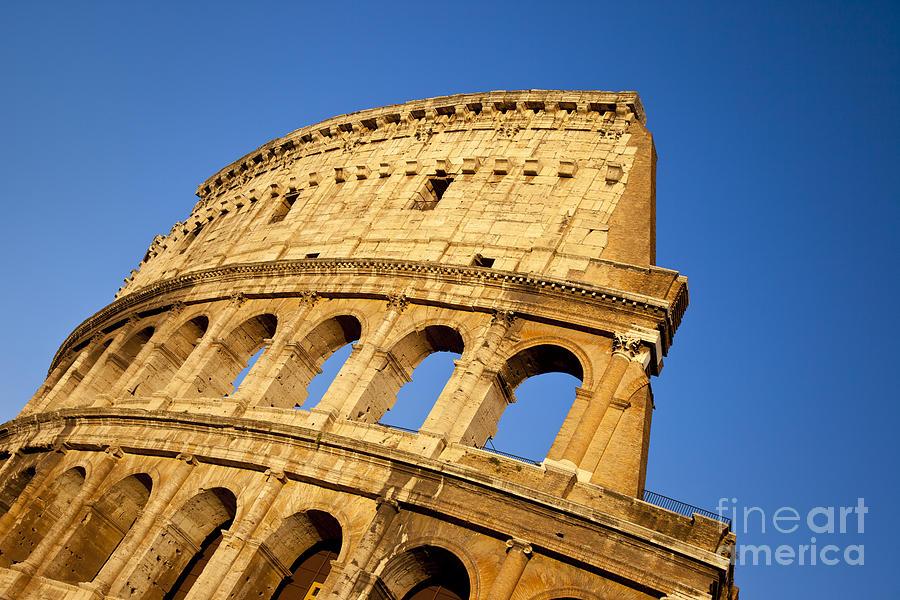 Roman Photograph - Roman Coliseum by Brian Jannsen