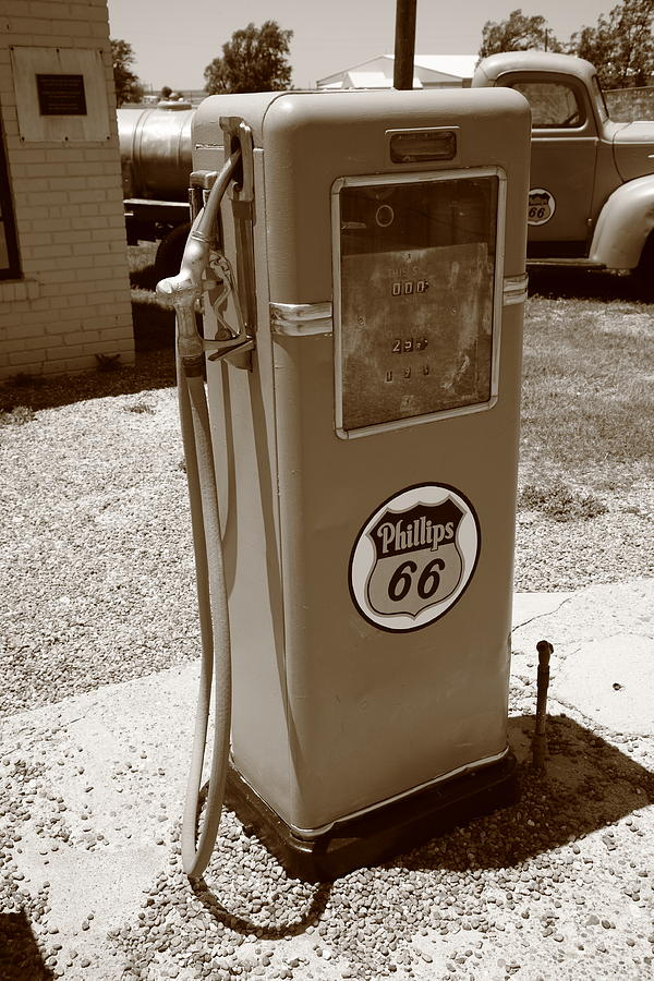 Route 66 Gas Pump Photograph  - Route 66 Gas Pump Fine Art Print