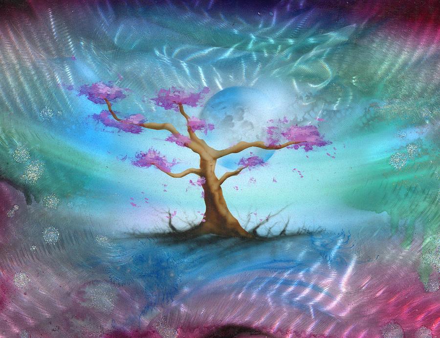 Sakura Painting - Sakura by Luis  Navarro