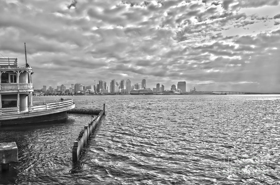 San Diego Bay Photograph