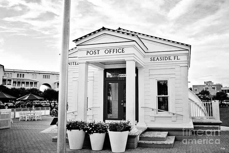 Seaside Post Office Photograph