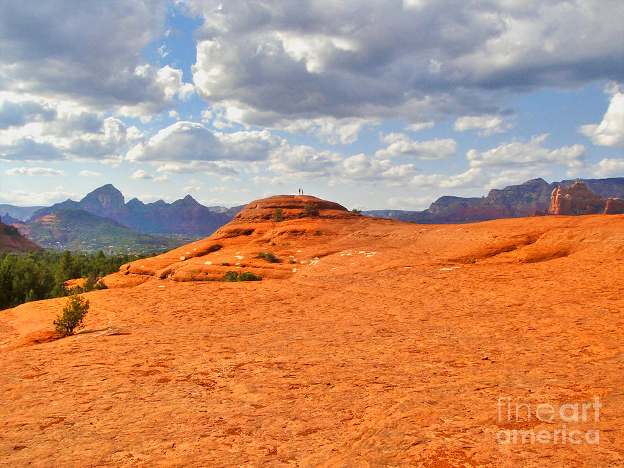 Sedona Arizona - Submarine Rock Photograph  - Sedona Arizona - Submarine Rock Fine Art Print