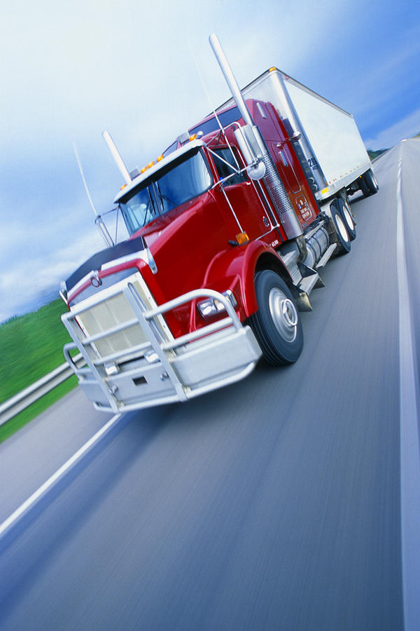 Semi-trailer Truck Photograph  - Semi-trailer Truck Fine Art Print