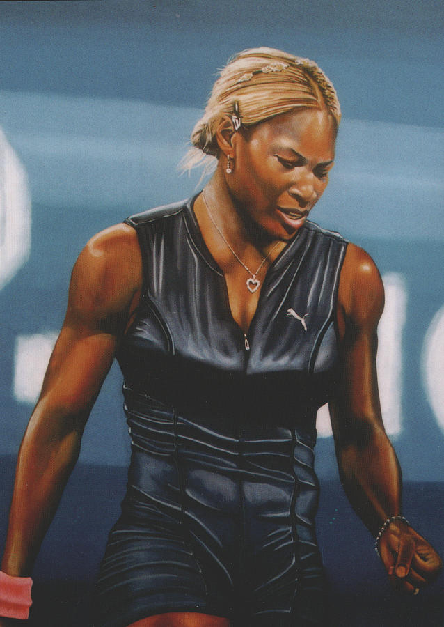 Serena Williams Painting  - Serena Williams Fine Art Print