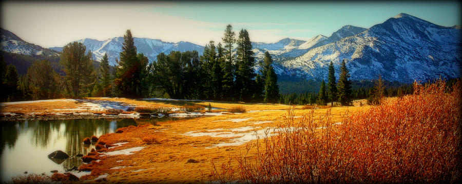 Sierra Panorama Photograph