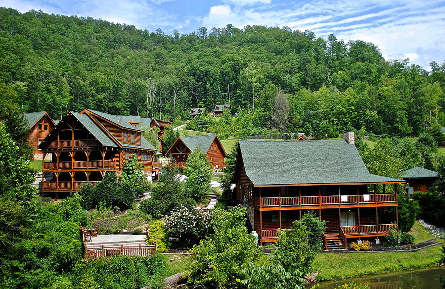 Smoky Mountain Cabins Photograph
