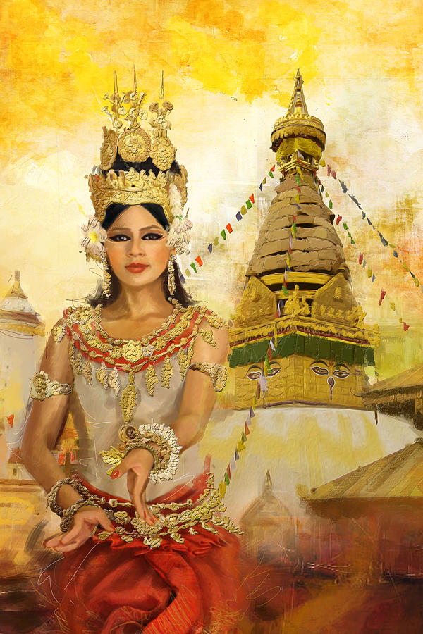 South East Asian Art Painting