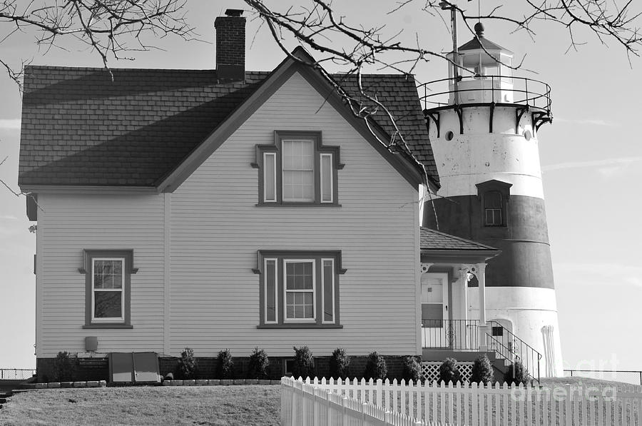 Startford Point Light Photograph