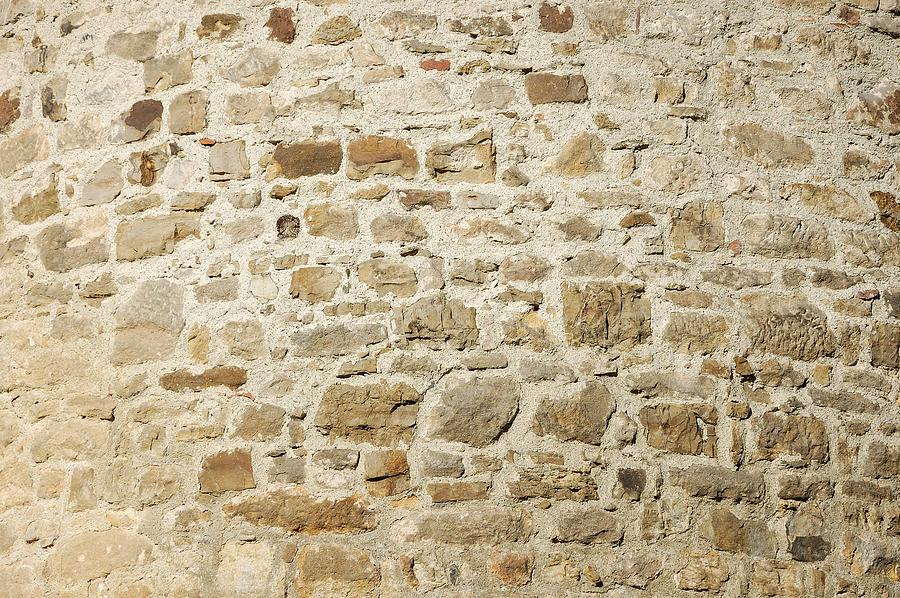 Stone Wall Photograph - Stone Wall by Matthias Hauser