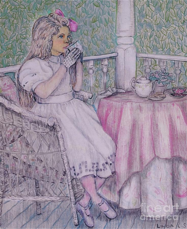 Tea Time For Alexis Drawing