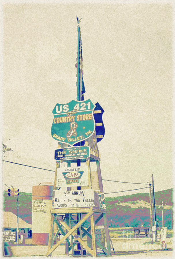 Tennessee Country Store Sign Digital Art