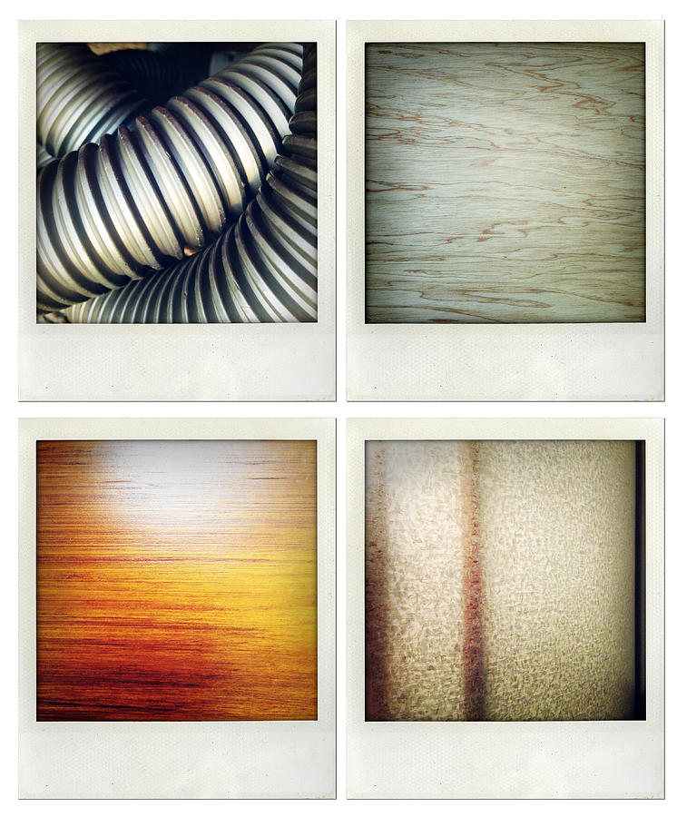 Tube Photograph - Textures by Les Cunliffe