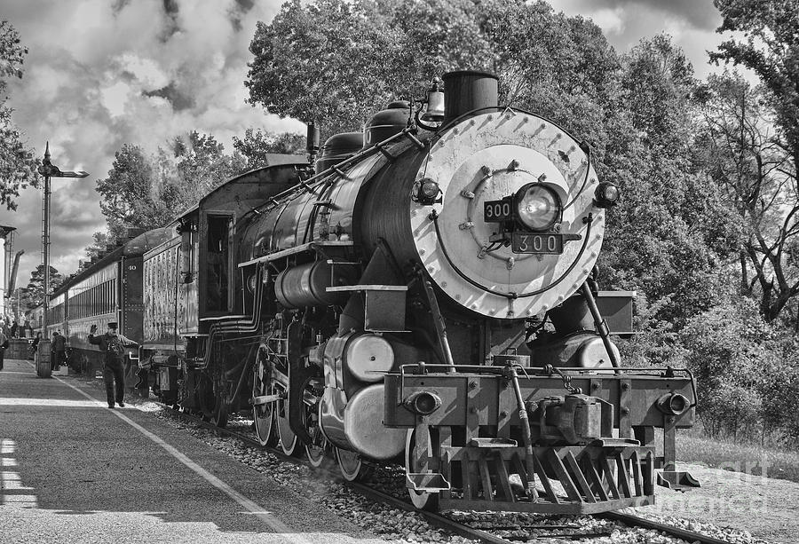 The Brakeman Photograph  - The Brakeman Fine Art Print