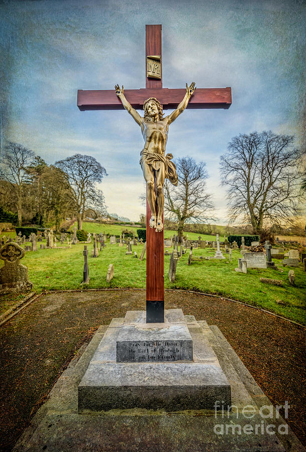 The Cross Photograph  - The Cross Fine Art Print