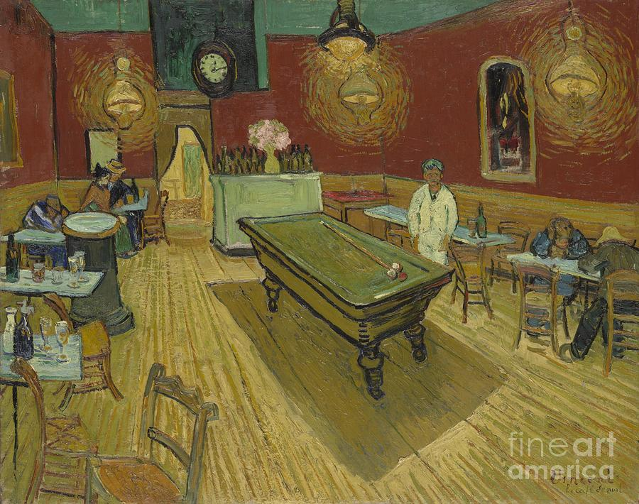The Night Cafe Painting