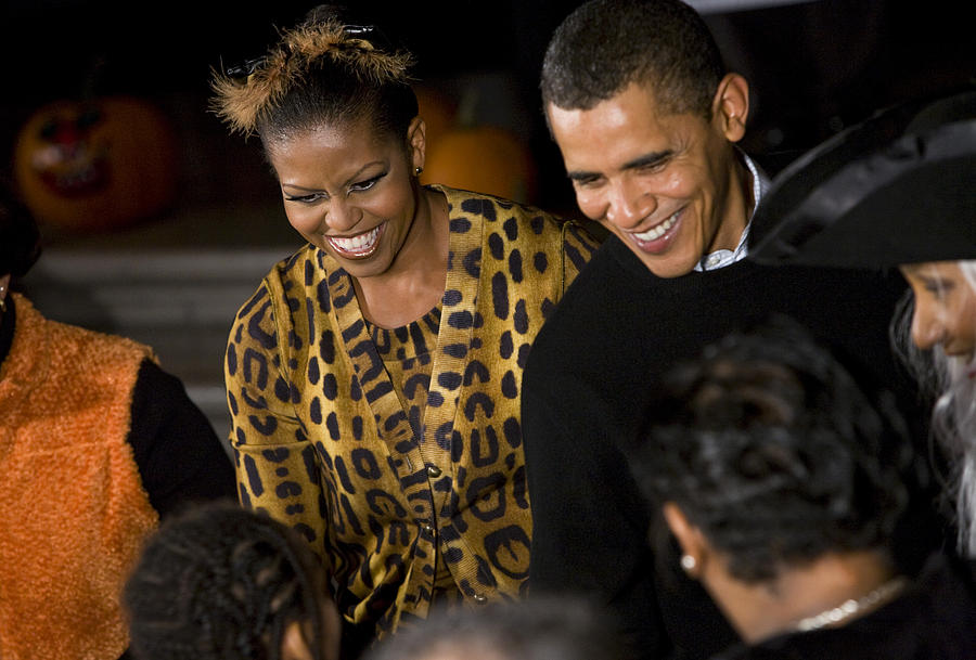 The President And First Lady Photograph