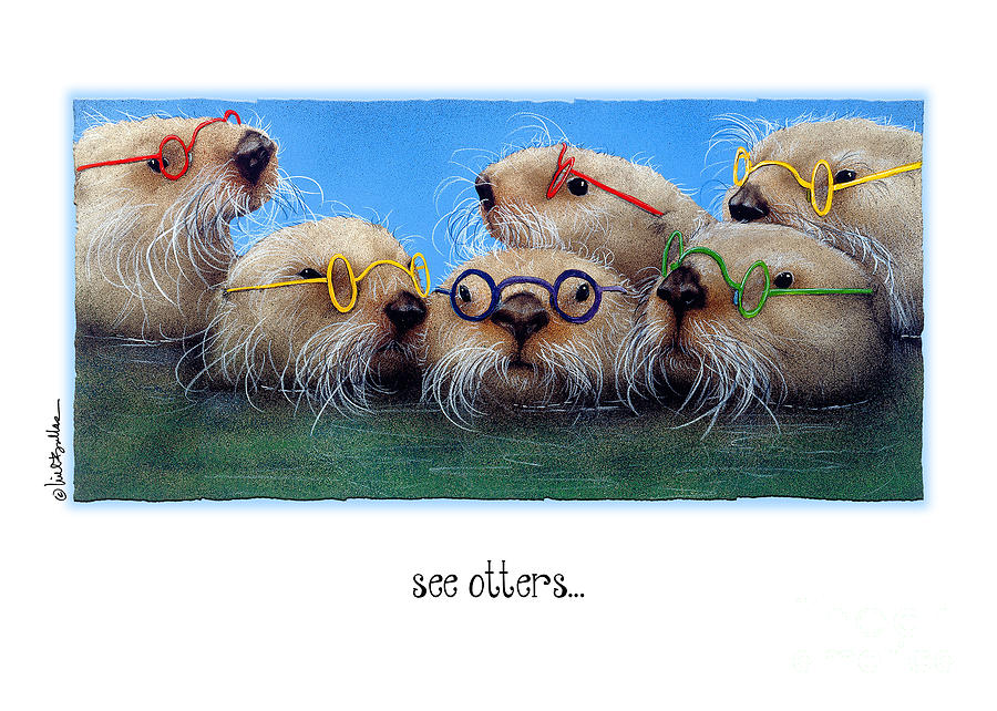 The See Otters... Painting