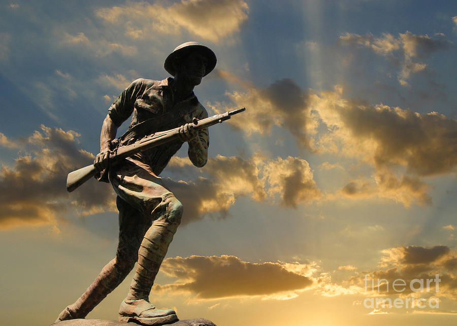 The Unknown Soldier Photograph  - The Unknown Soldier Fine Art Print