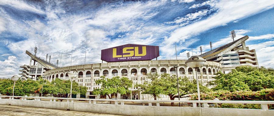 Tiger Stadium Panorama Photograph