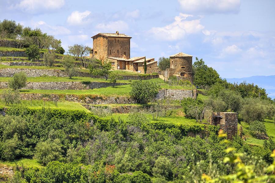 Tuscany - Montalcino Photograph