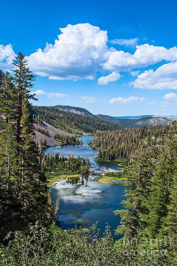 Mammoth Lake Photograph - Twin Lakes In Mammoth Lakes In California ...