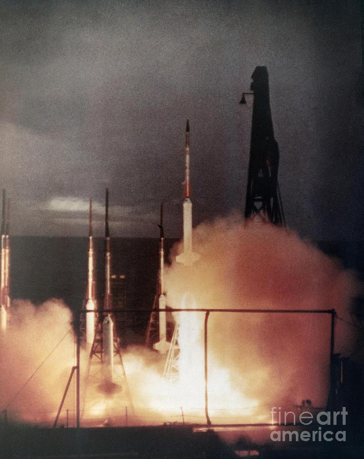 Us Navy Rockets 1958 Photograph