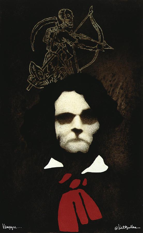 Will Bullas Painting - Vampyre... by Will Bullas