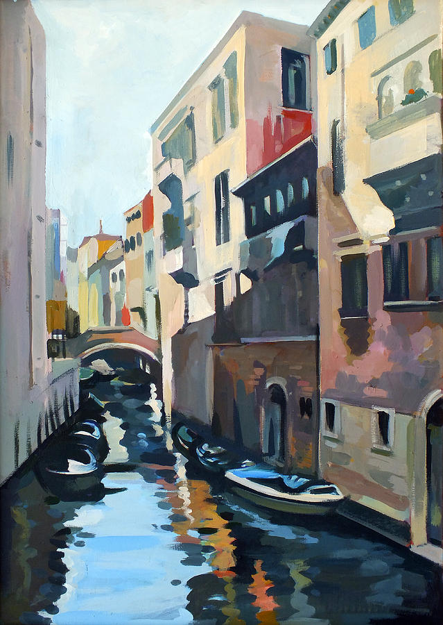 Venetian Channel Painting