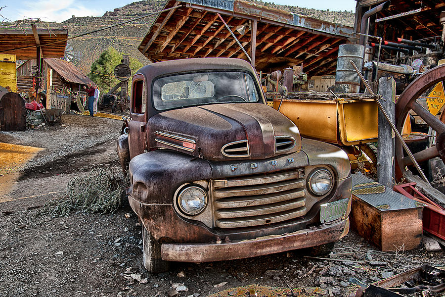 Vintage Ford Truck Photograph By Van Allen Photography