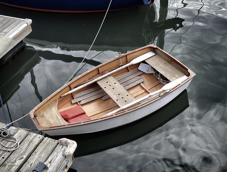 Boat Photograph - Waiting by Patricia Januszkiewicz