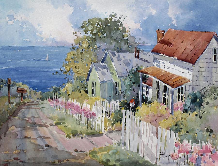 Westport By The Sea Painting