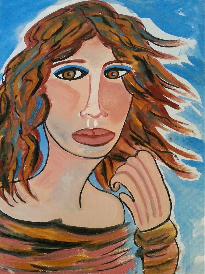 Windblown Painting  - Windblown Fine Art Print