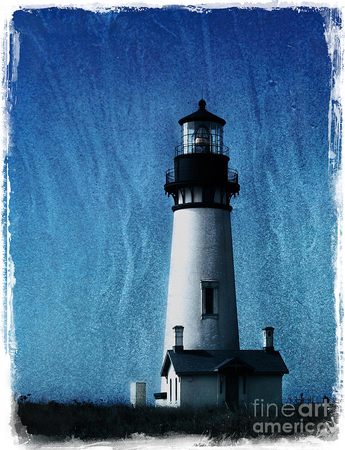 Yaquina Head Lighthouse Photograph  - Yaquina Head Lighthouse Fine Art Print