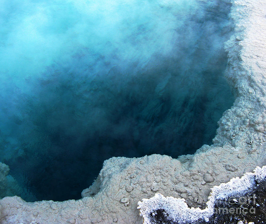 Yellowstone Blue Photograph
