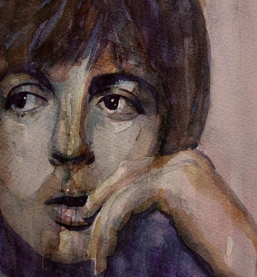 Paul Mccartney  Painting - Yesterday by Paul Lovering