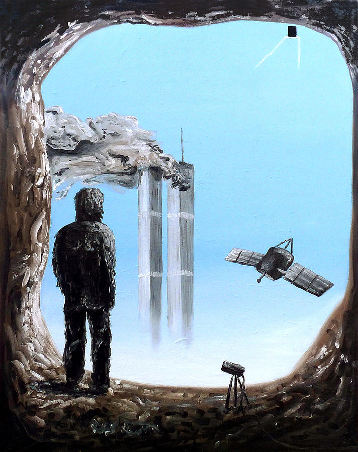 2012-confronting Inevitability Painting