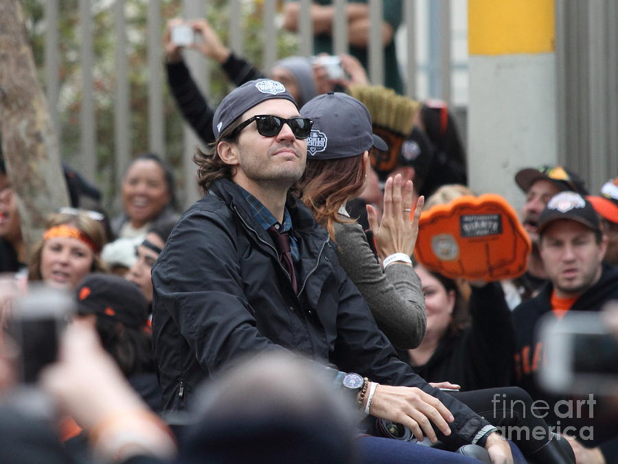 2012 San Francisco Giants World Series Champions Parade - Barry Zito - Img8206 Photograph