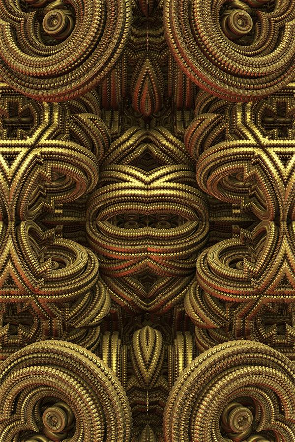 Fractal Digital Art - 20120331-1 by Lyle Hatch