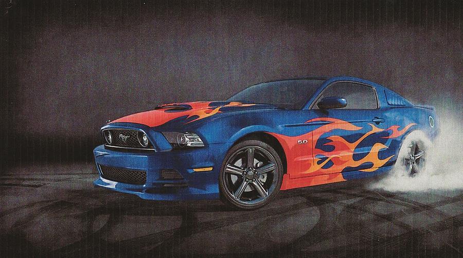 2014 Mustang Digital Art