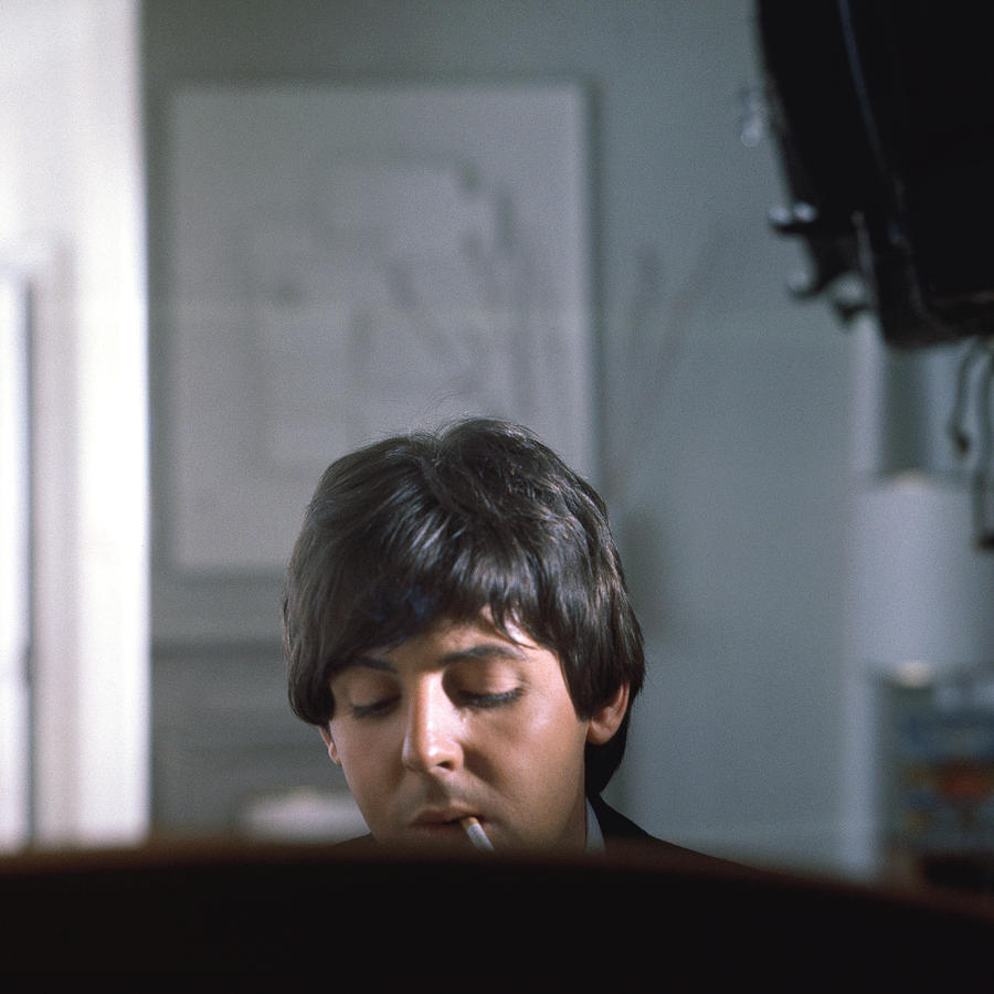 Beatles Help Paul Mccartney Photograph