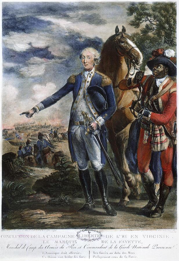 1781 Photograph - Marquis De Lafayette by Granger